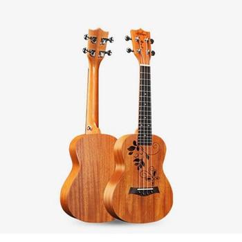 23 Inch Top Quality Mahogany Ukulele Hawaiian Small Guitar Four-string Guitar Professional Performance Level Ukulele UK2347
