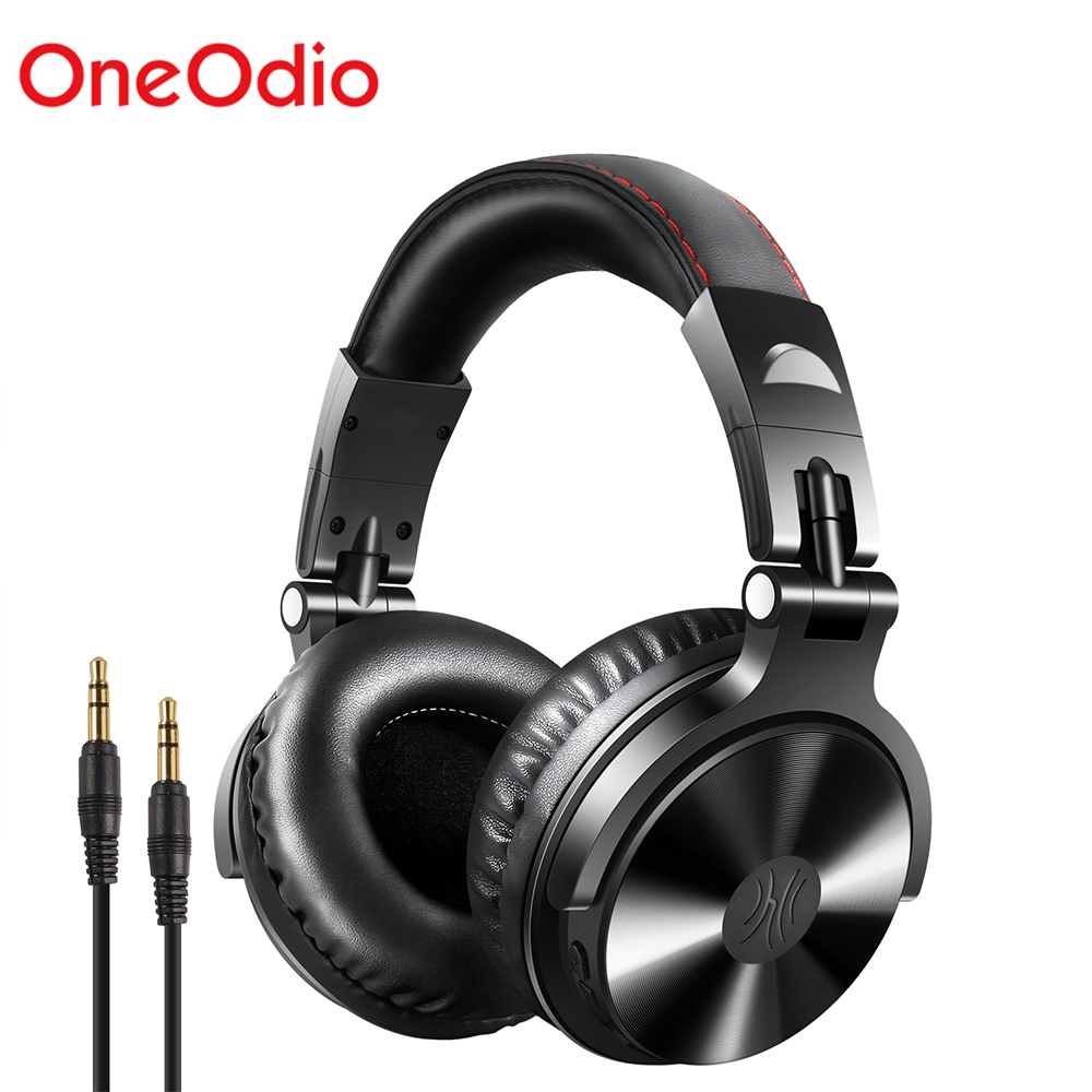 <font><b>Oneodio</b></font> Wireless DJ Kopfhörer V5.0 Bluetooth Kopfhörer Wireless On-Ohr Stereo Wireless + Wired Headset Für Handys PC Neue image