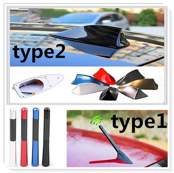 car auto styling accessories Antenna Auto Radio Signal Aerial FM Aerials Roof for BMW E34 F10 F20 E92 E38 E91 E53 E70 X5 M M3 image