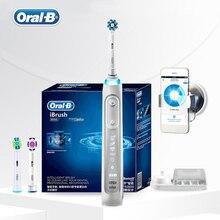Oral B 9000 elektrikli diş fırçası Bluetooth teknolojisi pozisyon algılama 6 modu 12 renk SmartRing üstün temiz diş fırçası