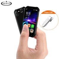 SERVO S10 Pro IP68 Waterproof mini Smartphone MTK6737 3GB 32GB NFC Walkie talkie Rugged Phone 13MP Fingerprint Face Recognition