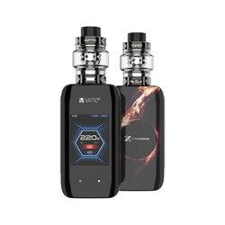 New arrival ! Vaptio X-HUBBLE GRAMPUS KIT vape kit electronic cigarettes 220W 5.0ml atomizer 2 *18650 Batteries 2 inch Screen