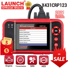 Car-Diagnostic-Tool Airbag Transmission-Engine Launch X431 EOBD Automotive Free-Update