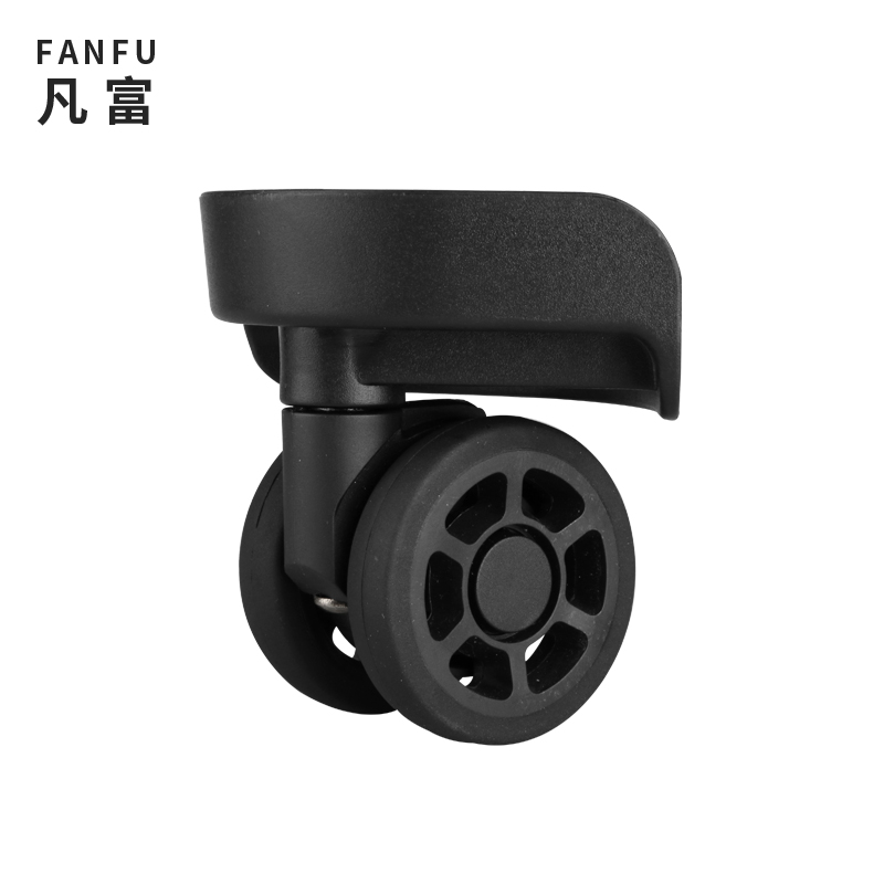 Wheels Luggage Casters  Accessories Repair Mute  Casters Trolley Case Universal Wheel Rolling Pulley   Colored  Luggage Casters