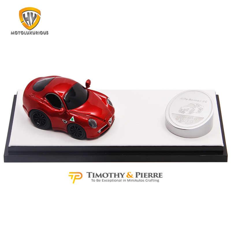 Timothy /& Pierre Q Model 1//64 Ferrari LaFerrari Pink Resin Limited 399pcs