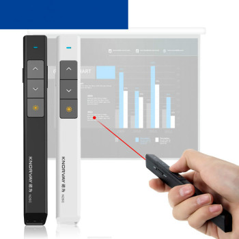 USB Wireless Presenter Red Laser Pointer 2.4GHz Wireless Remote Control for PowerPoint Presentation teacher logitech Projector [avatto] high quality rf 2 4ghz usb air mouse rechargeable powerpoint remote control ppt clicker presentation pointer laser pen