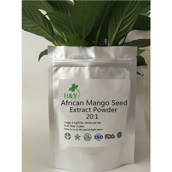 цена на 150-1000g Free Shipping Top Grade African Fresh Mango Seed Extract Powder 20:1In Stock