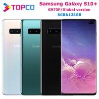 Samsung Galaxy S10 + S10 más G975F versión Global Original desbloqueado teléfono móvil Octa Core 6,4