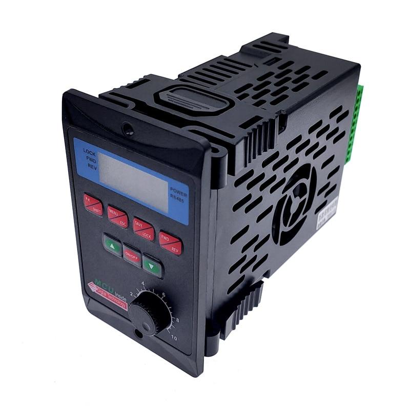 Преобразователь частоты 400 Вт, 750 Вт с добавлением трехфазного драйвера двигателя RS485, MCU T13-400W-12-H, однофазный вход