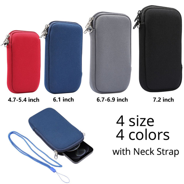 Universal 4.7-7.2'' Life Waterproof Phone Bag Pouch for iPhone Samsung Huawei Xiaomi Shockproof Phone Case with Shoulder Strap 2