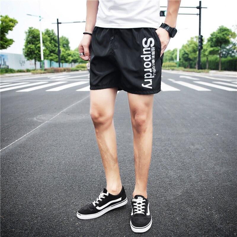Beach Shorts Men's Quick-Dry Shorts Summer Breathable Casual Pants Athletic Pants Shorts Men Shorts Seaside Hot Pants