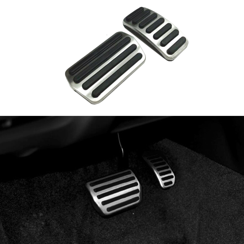 No-Drilling Sport AT Gas Brake Dead Foot Pedal Kit For BMW X4 F26 2014~2016 LHD
