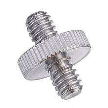 Mayitr 1/4 дюйма штыревые к резьбовые адаптеры металлический