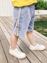 Summer Toddler Infant Boy Pants Jeans Child Kids Denim Shorts Baby Boys Short Trousers szie: 90-130(China)