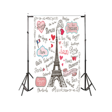 Beebuzz photo backdrop white pink girl romantic love photography background paris eiffel tower