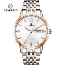 Starking Топ бренд браслет из нержавеющей стали часы для женщин