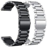 18MM 20MM 22MM Metall Handgelenk Gurt Für Garmin Vivoactive 3 4 Smart Uhr Band Edelstahl Armband für Vivoactive4 4 4 S Correa
