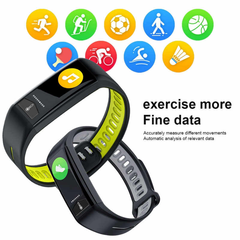 T02 ЭКГ PPG Смарт часы модные спортивные фитнес-браслет для мужчин женщин и детей Bluetooth браслет IP68 Водонепроницаемый Шагомер Смарт-браслет