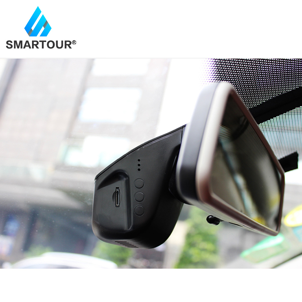 Smartour Dash Cam USB Auto DVR Driving Video Recorder GPS HD 1080P Dash Kamera für Android Auto Zubehör Auto DVR Recorder