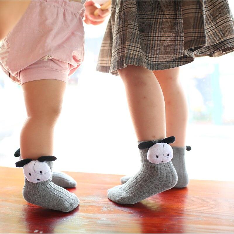 meias de algodao infantis com desenho 01