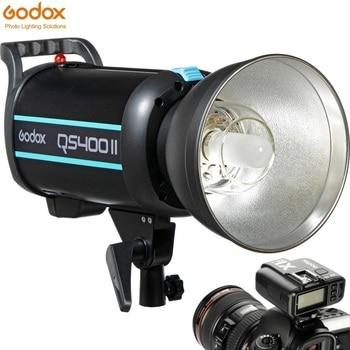 GODOX QS400II QSII 400Ws 2.4G Professional Studio Strobe Modeling Light 5600±200K for DSLR Cameras Studio Portrait Photography