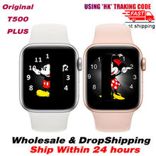 IWO13 плюс T500 плюс Смарт часы для мужчин женщин вызовов через Bluetooth Водонепроницаемый DIY Уход за кожей лица сердечник, занятий спортом, умные ча...