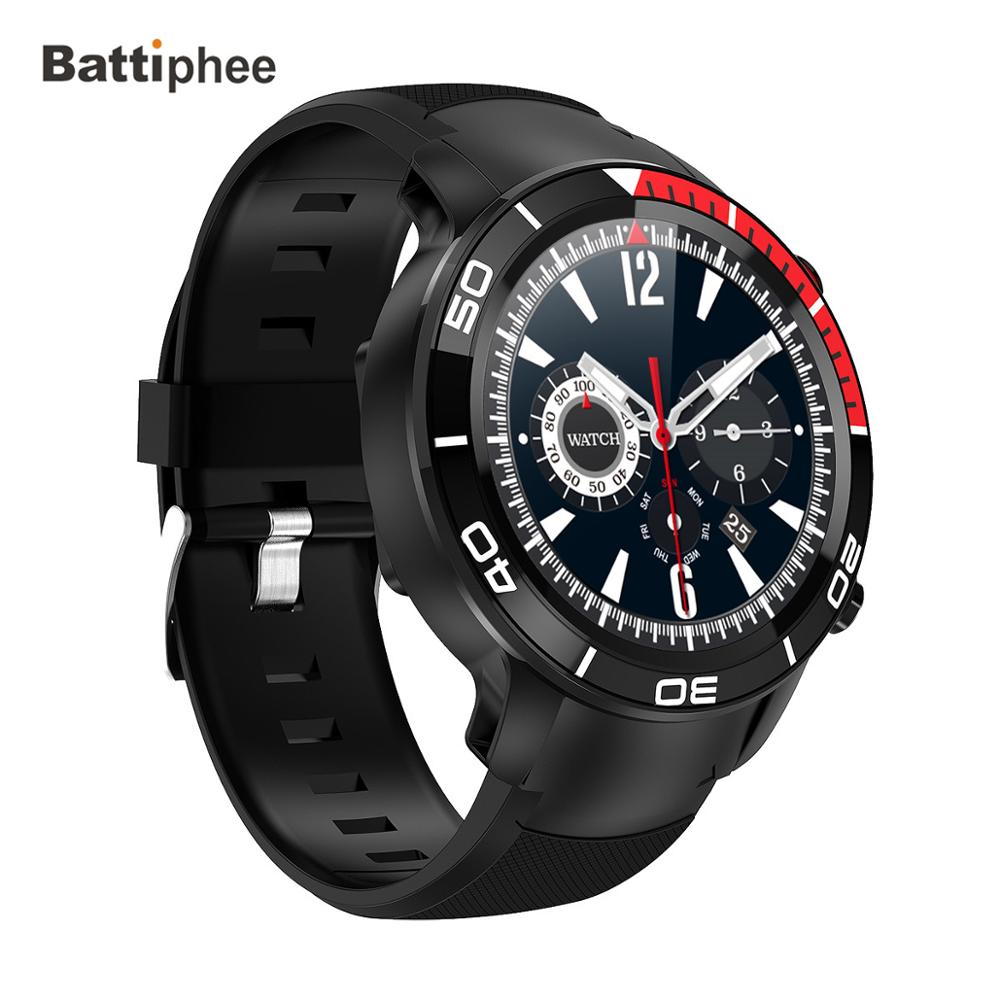 Battiphee Microwear <font><b>4G</b></font> LTE <font><b>Smartwatch</b></font> Model H8 Touch Screen Video Talk Waterproof Watchphone Android 7.1 Retina HD Screen 16G image