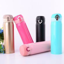 New stainless steel vacuum flask bouncing cup gift creative High temperature resistance