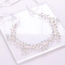 Crystal Pearl tiara Headband