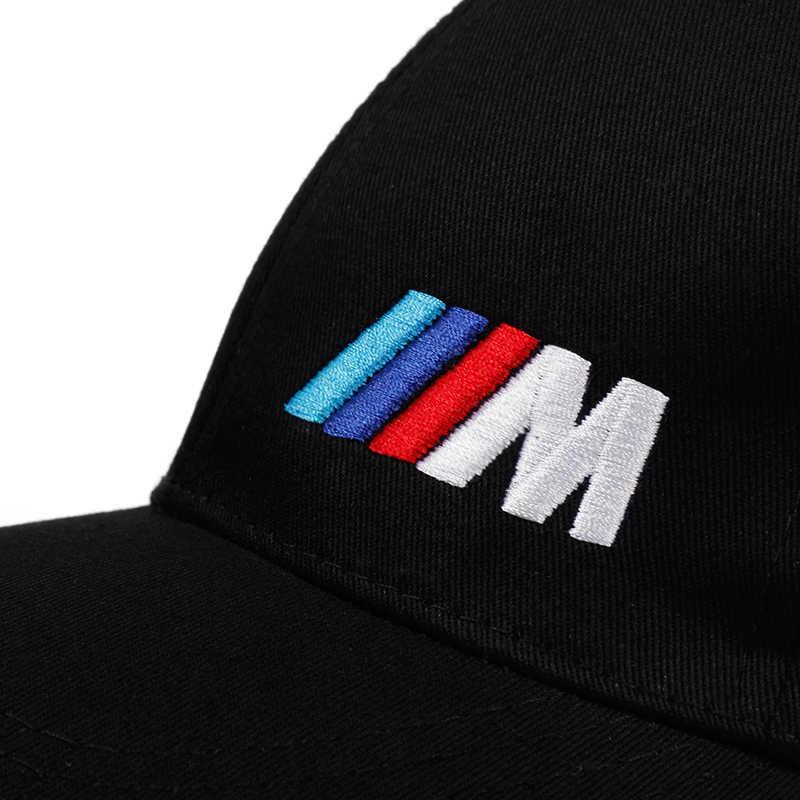 Hommes mode coton voiture logo M performance casquette de Baseball chapeau pour coton mode hip hop casquette chapeaux