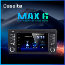 "Dasaita TDA7850 2Din 7"" Android 9.0 Car DVD player for Audi A3 S3 Radio 2003 2004 2005 2006 2007 2008 2009 2011 2013 GPS 64G ROM(China)"