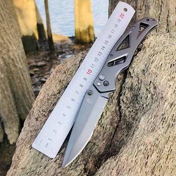 2021 Hot Seller Gerber in Outdoor Folding knife High Hardness Camping Hunting Tactics Pocket kitchen Self-defense garden Tools 5