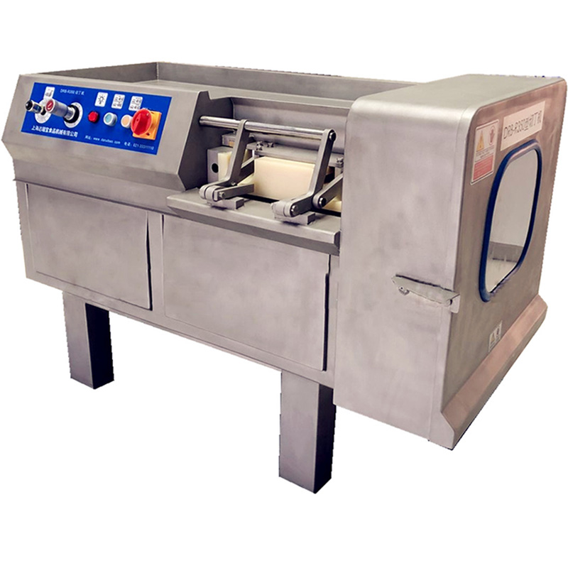 Commercial Automatic Dicing Machine Stainless Steel Fresh Meat Dicer DRB-R350 Micro-frozen Meat Granule Cutting Machine 380V 3KW