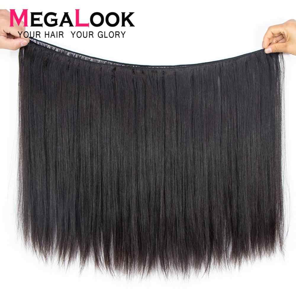 Pelucas de Bob pelucas de encaje corto frente de cabello humano para mujeres negras 180% pelucas de cabello humano de frente de encaje recto cabello Remy Megalook 13x4