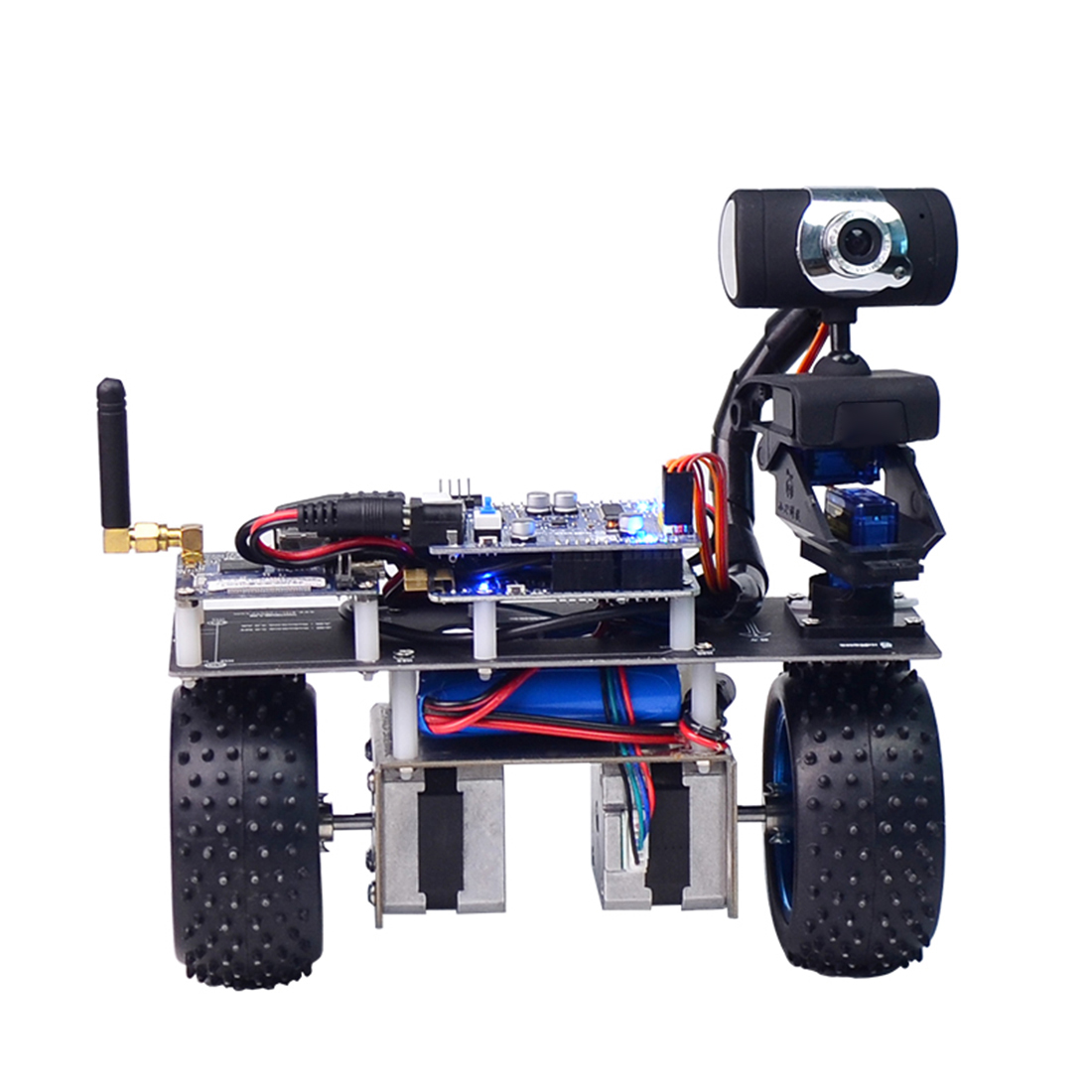 DIY Stem Programmable Intelligent Balance Car WiFi Video Robot Car Support iOS/Android APP PC Remote Control for STM32 2