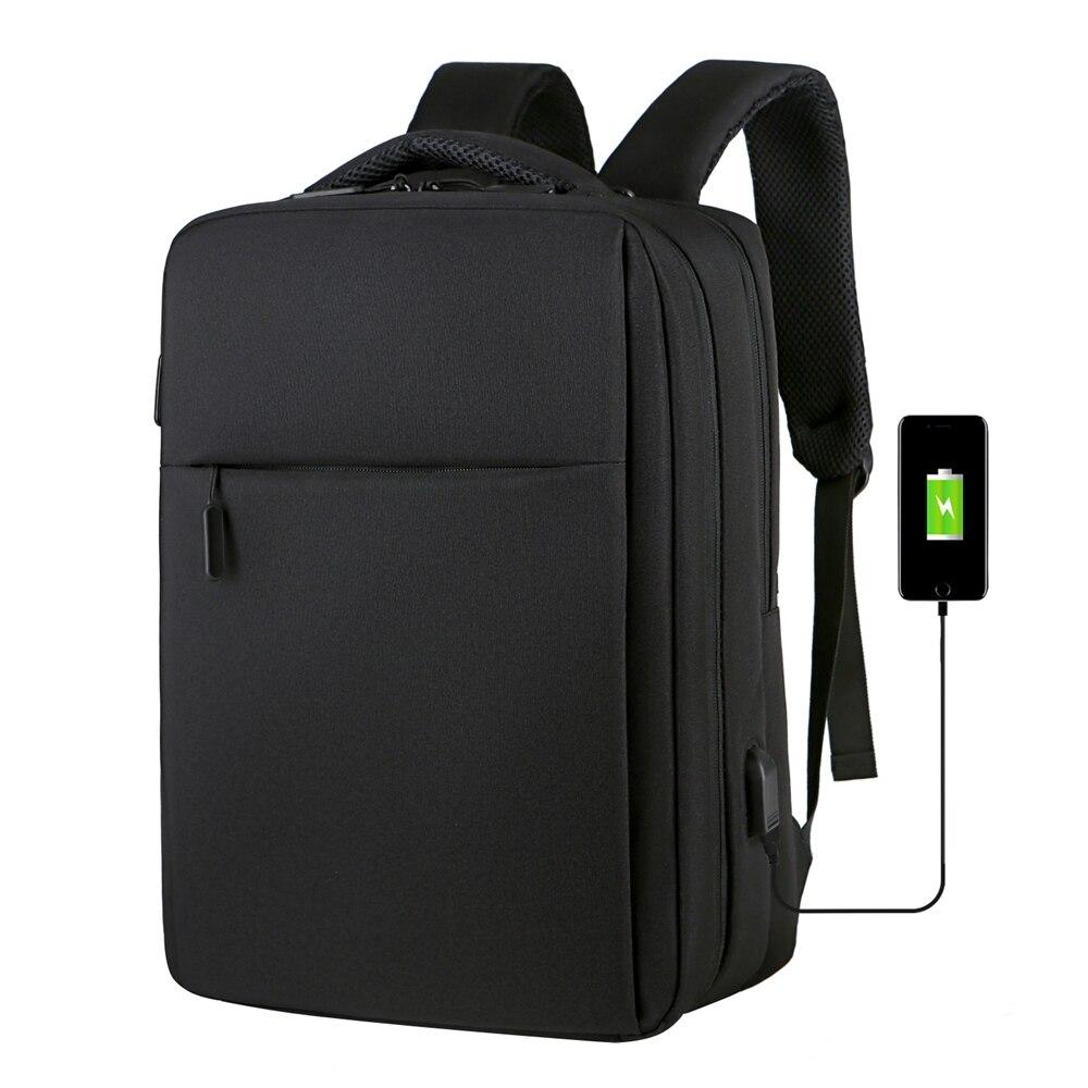 Anti Theft 17.3 Inch Backpack Men USB Charging Laptop Backpack School Bag Waterproof Travel Bag 15.6 School Backpacks For Teens