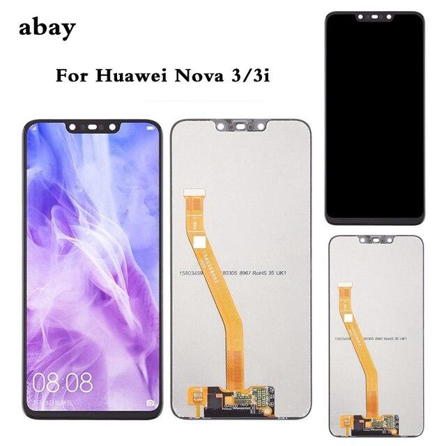 Dla Huawei Nova 3 wyświetlacz LCD ekran dotykowy PAR LX1 LX9 Nova 3i wyświetlacz LCD LX2 L21 Nova 3e ekran LX3 L23 ekran Nova3 naprawy
