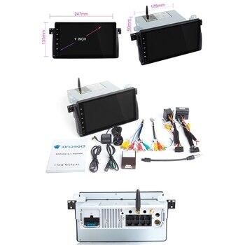 Auto Radio Car Multimedia Player 1 Din Android 9.0 para BMW E46 M3 Rover 75 Coupe 318/320/325/330 / 335MGZT Cabeça de navegação GPS Uni 1