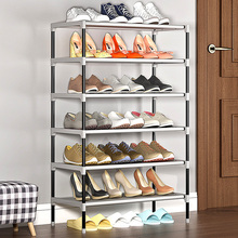 Multilayer Shoe Rack Thickening Tube Nonwoven Shoe Cabinet Easy Assembled Home Furniture Space-saving Dorm Shoe Rack Organizer