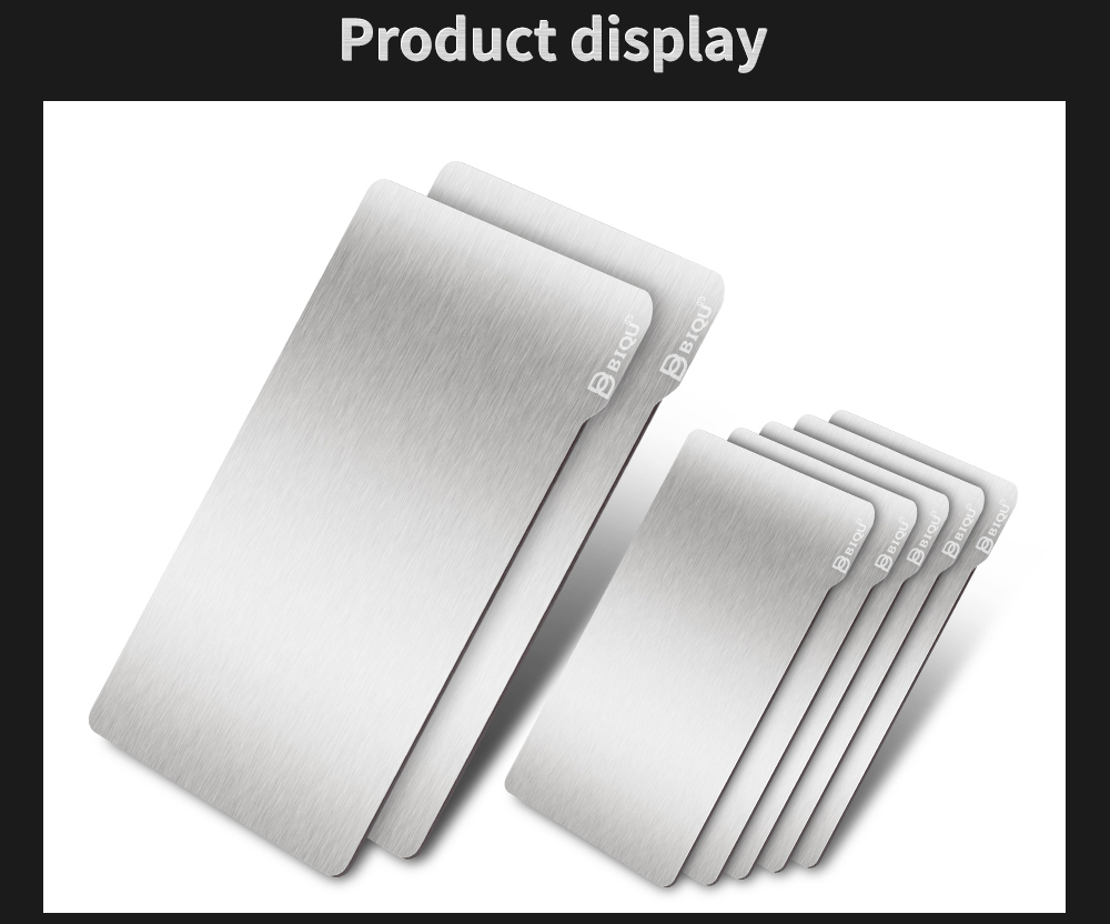 光固化DLP打印弹簧钢板软磁片套装_08