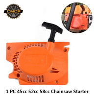 1pc Chainsaw Starter Fit Stihl 45cc 52cc 58cc 전기 톱 예비 부품 Pull Recoil Starter
