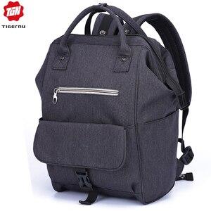 Image 1 - Tigernuกระเป๋าเป้สะพายหลังผู้หญิงกระเป๋าโรงเรียนกระเป๋าสำหรับวัยรุ่นสบายๆผู้หญิงกระเป๋าเป้สะพายหลังMochila Bagpack