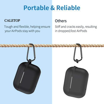 Caletop Pro Silicon Case for AirPods Pro 1