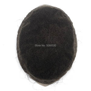 Image 4 - الدانتيل الكامل قاعدة رجل باروكة من شعر طبيعي شعر ريمي الشعر المستعار نفاذية الهواء جيدة