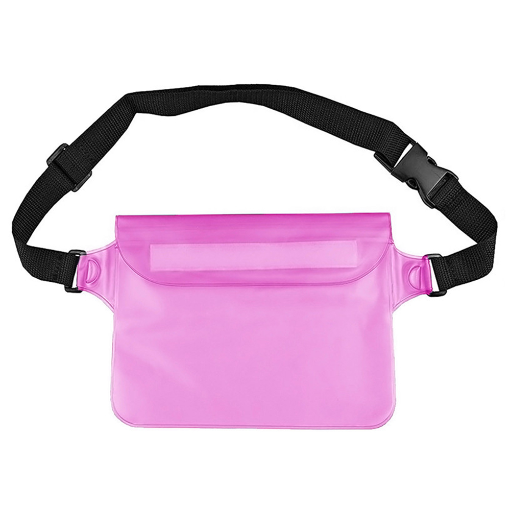 Waist Bag Unisex Adjustable Straps Outdoor Diving Protect Phone Beach Hiking Waterproof Boating Kayaking Dry Swimming PVC