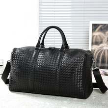Male Brand Travel Bags Leather Handbags For Men Large-Capacity Portable Shoulder Bags Men big weekend Travel Bags Travel Package
