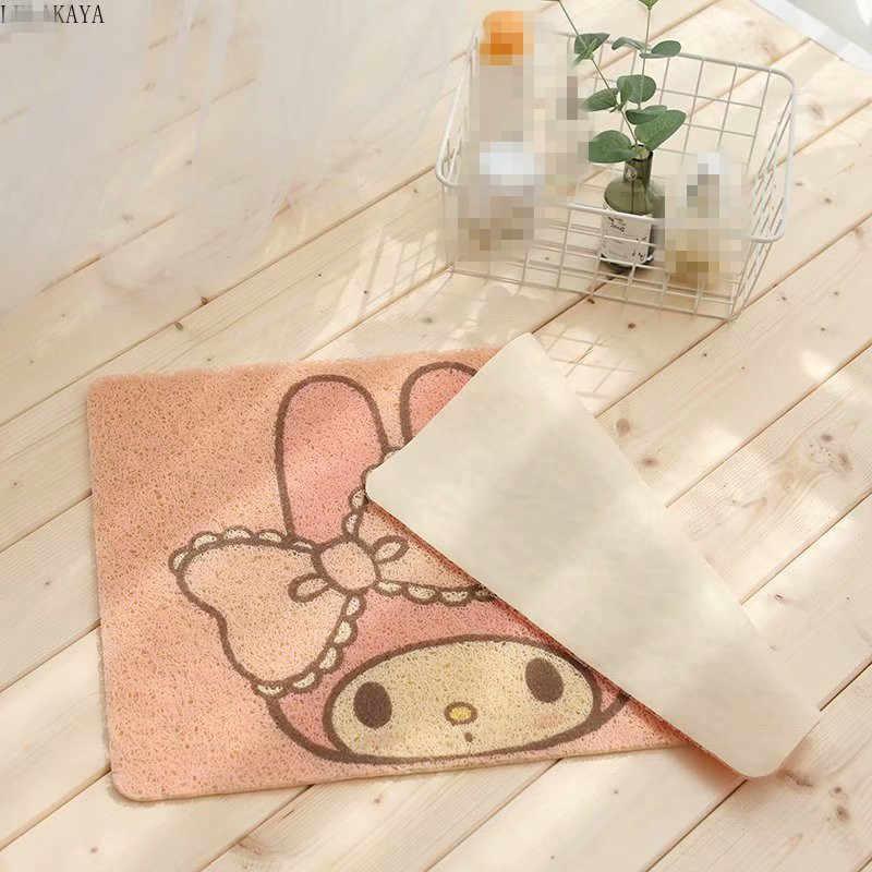 My Melody Cinnamoroll Hund Pinguin Anime Teppich Haushalt Dekoration Weichen Teppich Cartoon Schlafzimmer Fußmatten Anti-slip Bath Fußmatte