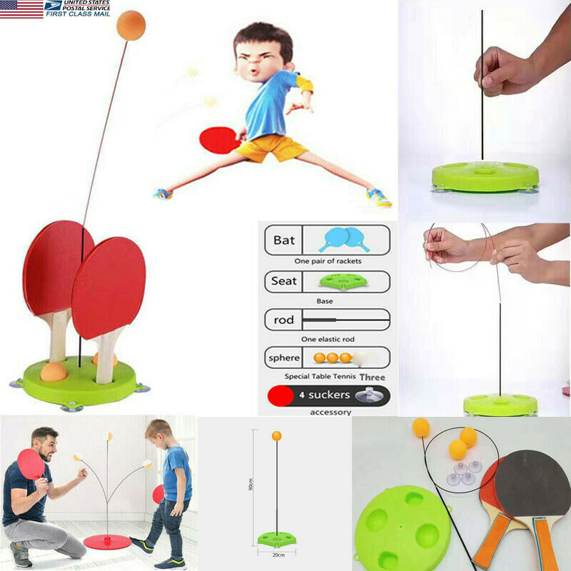 àHot DealsToys Robot Ping-Pong-Trainer Table-Tennis Training Fixed-Rapid-Rebound Mackineô