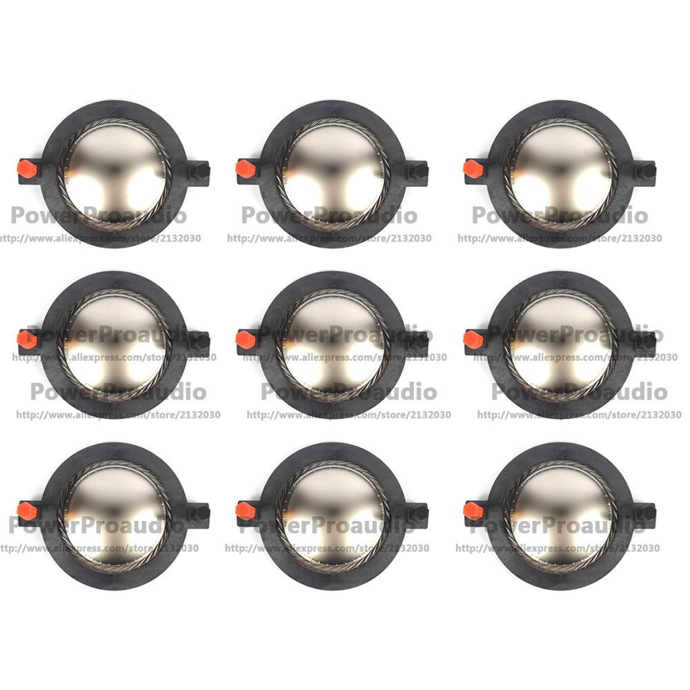 Сменная диафрагма 9 шт. для титанового купола DE82TN,DE85,DE85TN,DM5001 для B & C DE75/750/TN DE82/85 8 Ом или 16 Ом
