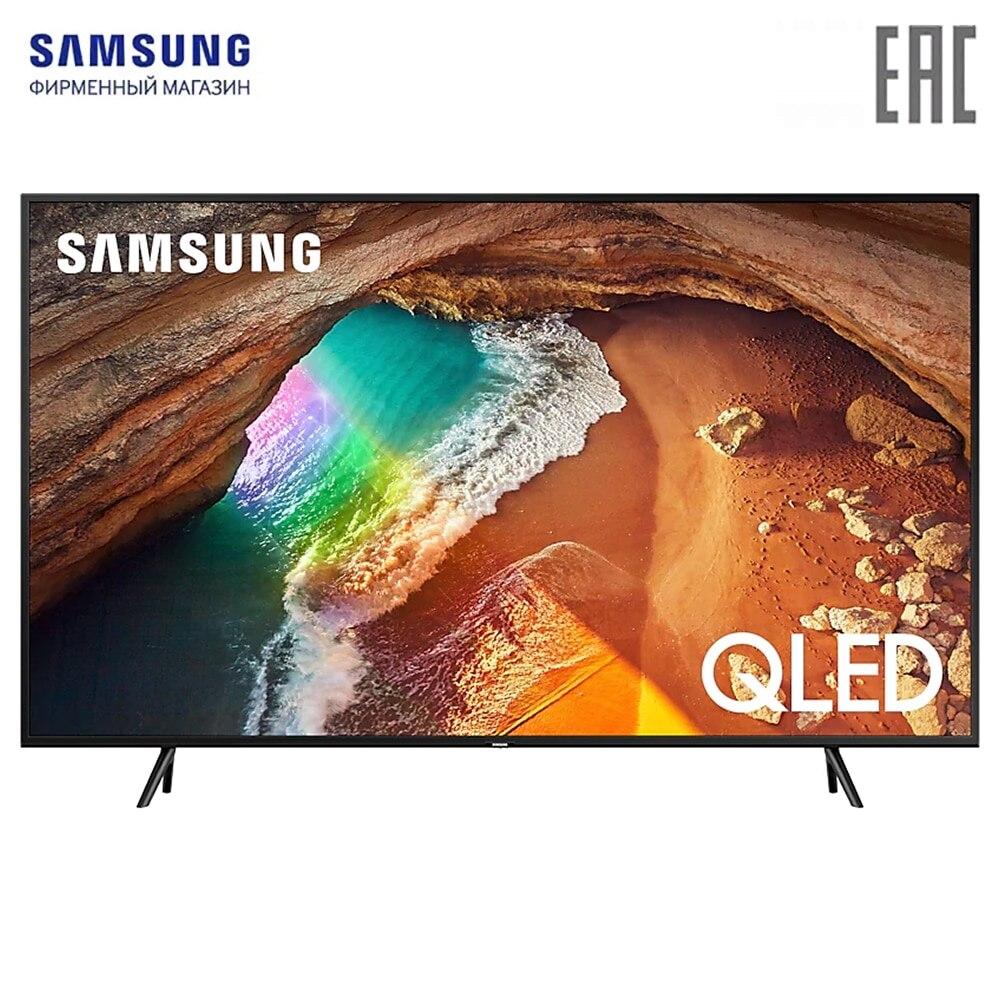 Smart TV Samsung QE49Q60RAUXRU televisión digital dvb-T dvb-t2 49 televisión en pulgadas KERUI WIFI GSM sistema de alarma de seguridad para el hogar con 2,4 pulgadas TFT Panel táctil inalámbrico de Control inteligente de alarma de ladrón para hogar cámara IP